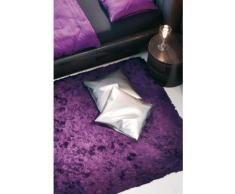 Un Amour de Tapis 13757 Imola Tapis Shaggy à Poil Long Polyester Violet 140 x 200 cm