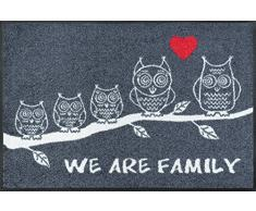 Wash dry paillasson 068747 we are family 50 x 75 cm