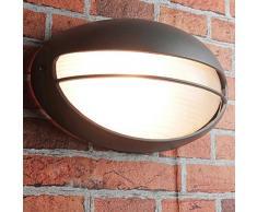 Luminaire dextérieur AMSTERDAM E27 IP44 32 cm de large éclairage extérieur anthracite applique terrasse