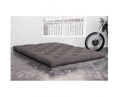 KARUP Matelas FUTON DOUBLE LATEX gris 140*200*18cm