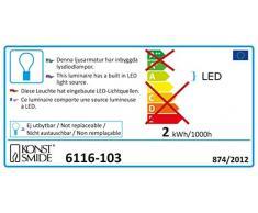 Konstsmide 6116-103 Rideau Lumineux à LED, Acrylique/, 0.3 W, Blanc,