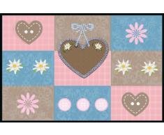 Eurographics DT-AHA1328 Deco mats Paillasson lavable Motif Sweet hearts 50x75cm