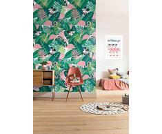 Komar Disney Minnie Tropical Papier Peint pour Chambre denfant 200 x 280 cm