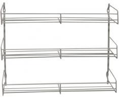 Metaltex 364633095 Pepito Étagère à épices 3 étages 37 x 31,5 x 8 cm Revêtement Polytherm