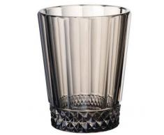 Villeroy & Boch Opéra Smoke Verre à eau, Lot de 4, 315 ml, Cristal, Transparent/Gris