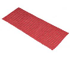 Kleine Wolke Sign Tapis de baignoire en PVC Rouge 36 x 80 cm