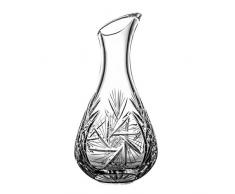 Crystelle aljulia Carafe à vin Cristal, 1000ML, 14x 14x 29cm