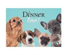 plenty gifts 51281 Napperon Studio Pets Dog Mix, Plastic, Universel, Taille Unique