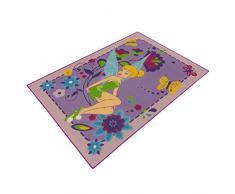 Associated Weavers Kids Corner 627058 Disney Fairies Tapis de décoration Velours Violet 133 x 95 x 2 cm