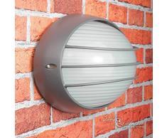 """'Luminaire Lampe""""Maritime d'Amsterdam dans Lampe murale extérieure anthracite/E27 Max. 60 W 230 V IP44/lampe pour jardin escalier Carport Garage Lampe éclairage"""
