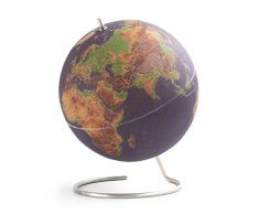 SUCK UK Grand Globe Terrestre, Liège, Multicolore, 30 x 25 x 25 cm