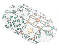 Kleine Wolke Textilgesellschaft 4109148008 Coussin pour Baignoire, Plastique, Multicolore, 32 x 22 x 3 cm