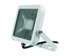 Perel LEDA4002WW-W Projecteur LED Design, Verre, 20 W, Blanc