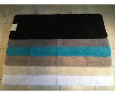 Cazsplash Tapis de Bain en Microfibre Couleur Pierre 150 x 50 x 2,5Â cm