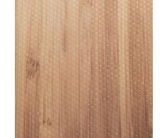 Wenko 47049100 Tapis Anti-dérapant 150x50 cm Bambou, Plastique, Transparent, 50,5 x 5,2 x 5,2 cm