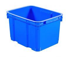 Curver 01953-082-00 Unibox III Boîte de rangement Plastique Bleu 35,4 x 27,4 x 22 cm