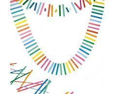 Party Pro 50268 Guirlande Swen, Papier, Multicolore, 300 x 12 x 0,1 cm
