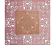 Cercles Lynn Designs Napperon Die Lords Et Des Communes, Carré 40.125-inch x 40.125-inch, acrylique, multicolore