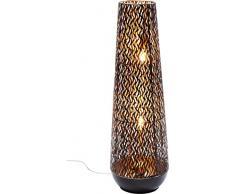 Kare Lampe de sol parapluies: métal acier laqué noir 24x 24x 76cm