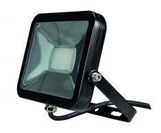 Perel LEDA4002WW-B Projecteur LED Design, Aluminium, 20 W, Blanc