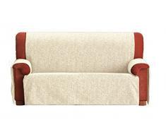Eysa F236091 Non-élastique housse de canapé Chenille/Coton/Polyester/Acrylique Ecru 37 x 6 x 29 cm