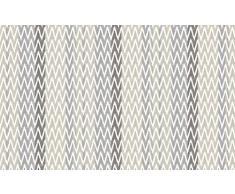 LOVELY CASA IKATI Tapis Exterieur 160X260 CM, Polyester, Gris, 80 x 150 cm