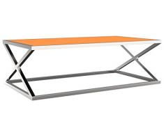 MERCURY Santos Table Basse, Verre, 140 x 80 x 45 cm