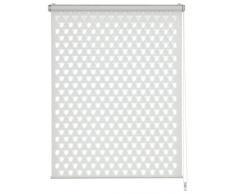 Gardinia Easyfix Double Store Enrouleur, Polyester, Blanc, 150 x 45 x 0,1 cm