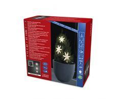 Konstsmide 6133-103 Rideau Lumineux à LED, Acrylique, 0.1 W, Blanc, 350 x 15 x 15 cm