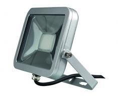 Perel LEDA4002WW-SG Projecteur LED Design, Aluminium, 20 W, Blanc