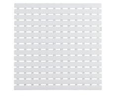 WENKO 23123100 Tapis antidérapant pour douche Arinos, Blanc, Plastique, 54 x 54 cm