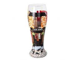 Lolita PIL-6620D Verre Pub Crawl Verre à Bière Multicolore 23 cm