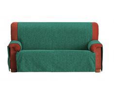 Eysa F236093 Non-élastique housse de canapé Chenille/Coton/Polyester/Acrylique Turquoise 37 x 6 x 29 cm
