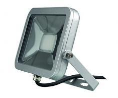 Perel LEDA4002NW-SG Projecteur LED Design, Aluminium, 20 W, Blanc