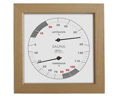 Fischer sauna Thermohygrometer, Apachi Parure Bois, 170Â x 170Â mm