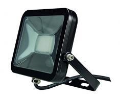 Perel LEDA4002NW-B Projecteur LED Design, Aluminium, 20 W, Blanc