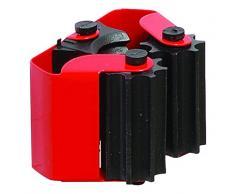 Brinox Lot balais avec Manchons individuelle, Voir Description, laqué Rouge, 1 unité