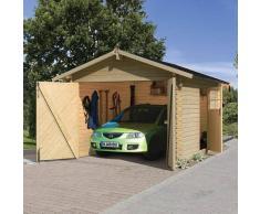 KARIBU Carport bois garage 28 mm