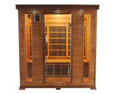 France sauna Sauna infrarouge luxe : 4 personnes
