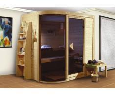 Sauna bois massif 40 mm Rondira