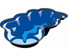 Ubbink Bassin jardin préfabriqué Neptune V de 3800 L