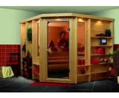 Sauna bois massif 40 mm Marona - Premium
