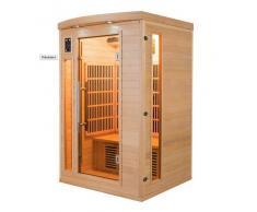 items-france APOLLON 2 PL - Sauna infrarouge apollon 2 places 120x105x190cm