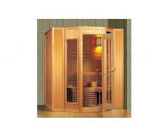 items-france KARKKILA - Sauna traditionnel 200x208x200 pour 4-5 personnes