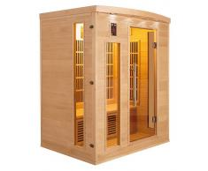 items-france APOLLON 4 PL - Sauna infrarouge apollon 4 places 175x120x190cm