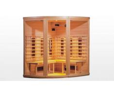 items-france HANKO - Sauna infrarouge 155x155x190