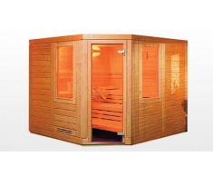 items-france KAJAANI - Sauna traditionnel 200x200x200 pour 4-5 personnes