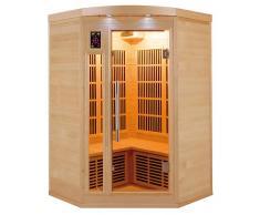 items-france APOLLON 2/3 PL - Sauna infrarouge apollon 2/3 places 120x120x190cm