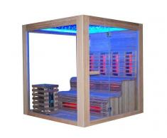 items-france COMBINE 1 - Sauna combine 200x200x210