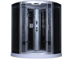 items-france ELEGANCIA - Cabine de douche hydromassante 2 personnes 145x145x210